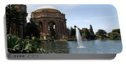 Palace Of Fine Arts And Lagoon Portable Battery Charger
