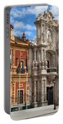 Palace Of San Telmo In Seville Portable Battery Charger