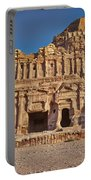 Palace Tombin Nabataean Ancient Town Petra Portable Battery Charger