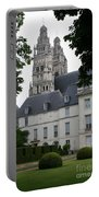 Palais In Tours With Cathedral Steeple Portable Battery Charger