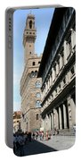Palazzo Vecchio And Uffizien Portable Battery Charger