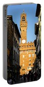 Palazzo Vecchio In Florence Italy Portable Battery Charger