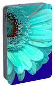 Pale Blue Portable Battery Charger