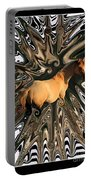 Pale Horse Portable Battery Charger by Aidan Moran