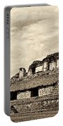 Palenque Panorama Sepia Portable Battery Charger