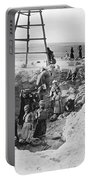 Palestine Archeology Portable Battery Charger