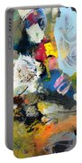 Palette Abstract Portable Battery Charger