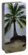 Palm At The Edge Of The Sea Number Two Portable Battery Charger