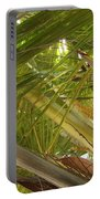 Palm Blossoms Portable Battery Charger
