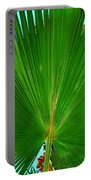 Palm Closeup Portable Battery Charger