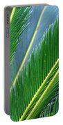 Palm Cycas Fronds Portable Battery Charger