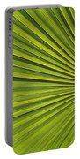 Palm Fron Abstract Portable Battery Charger