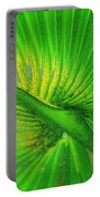 Palm Frond Work A Portable Battery Charger