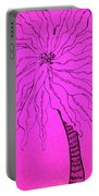 Palm Pink Portable Battery Charger