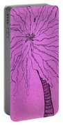 Palm Purple Portable Battery Charger
