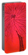 Palm Red Portable Battery Charger