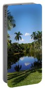 Palm Reflection And Shadow Portable Battery Charger