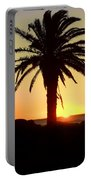 Palm Sunset Portable Battery Charger