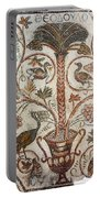 Palm Tree And Birds Portable Battery Charger