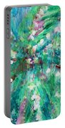 Palm Tree By Jan Marvin Portable Battery Charger
