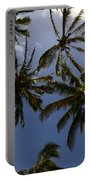 Palm Trees 3 Portable Battery Charger