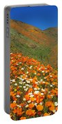 Palmdale Poppies Portable Battery Charger