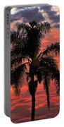 Palmtree Apocalypse Portable Battery Charger