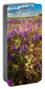 Palouse Falls Wildflowers Portable Battery Charger