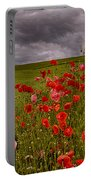 Palouse Poppies Portable Battery Charger