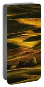 Palouse Sunset From Steptoe Butte Portable Battery Charger