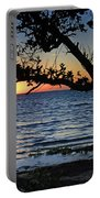 Pamlico Sound Through The Trees Portable Battery Charger