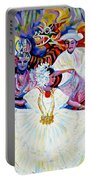Panama Carnival. Fiesta Portable Battery Charger