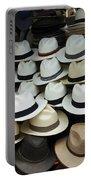 Panama Hats In Ecuador Portable Battery Charger