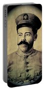 Pancho Villa In Military Uniform Drawing No  Date-2013  Portable Battery Charger