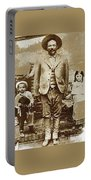 Pancho Villa  Portrait With Children No Location Or Date-2013 Portable Battery Charger