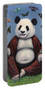 Panda Buddha Portable Battery Charger