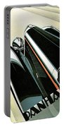 Panhard Car Advertisement Portable Battery Charger