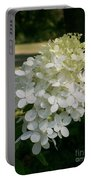 Panicled Hydrangea Portable Battery Charger