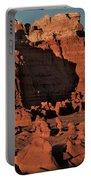 Panorama Hoodoos Goblin Valley Utah Portable Battery Charger