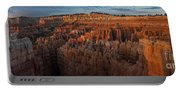 Panorama Of Bryce Canyon Amphitheater Portable Battery Charger