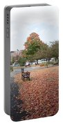 Panorama Of Taylor Park St Albans Vermont Portable Battery Charger