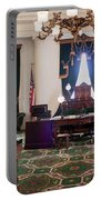 Panorama Of The Vermont State House Montpelier Vermont Portable Battery Charger