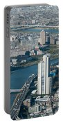 Panorama Of Tokyo Portable Battery Charger