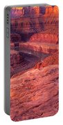 Panorama Sunrise At Dead Horse Point Utah Portable Battery Charger
