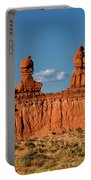 Panorama Three Sisters Hoodoo Goblin Valley Utah Portable Battery Charger