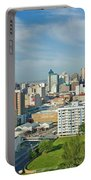 Panoramic Aerial View Of Durban, South Portable Battery Charger
