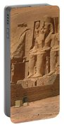 Panoramic Photograph Of Famous Egyptian Monument Portable Battery Charger