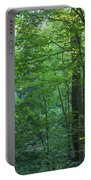 Panoramic Shot With Green Trees Portable Battery Charger