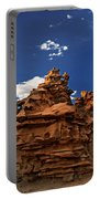 Panoramic Sunset Light On Sandstone Formations Fantasy Canyon  Portable Battery Charger
