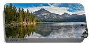 Panoramic View Of Anthony Lake Portable Battery Charger